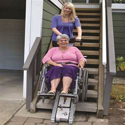 Temporary Chair Lift For Stairs by Stair Trac Portable Wheelchair Lift