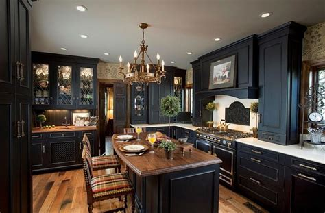 stunning kitchen designs 20 beautiful kitchens with dark kitchen cabinets page 4 of 4