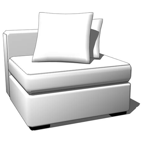 Walton Sectional by Walton Sectional 3d Model Formfonts 3d Models Textures