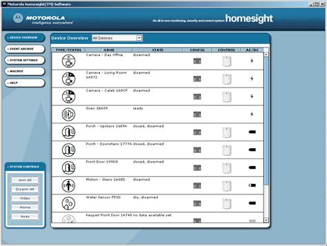 motorola homesight system software audioholics