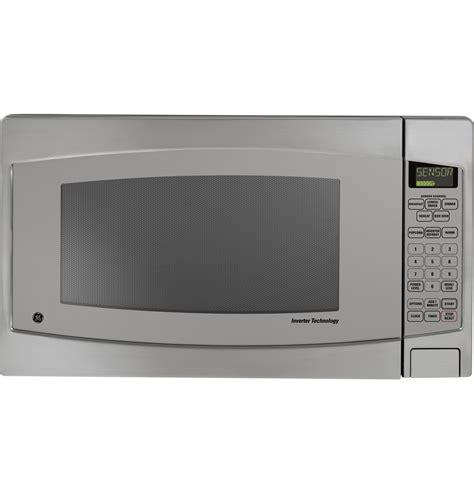 Ge Monogram Countertop Microwave by Jes2251sj Ge Profile Series 2 2 Cu Ft Capacity