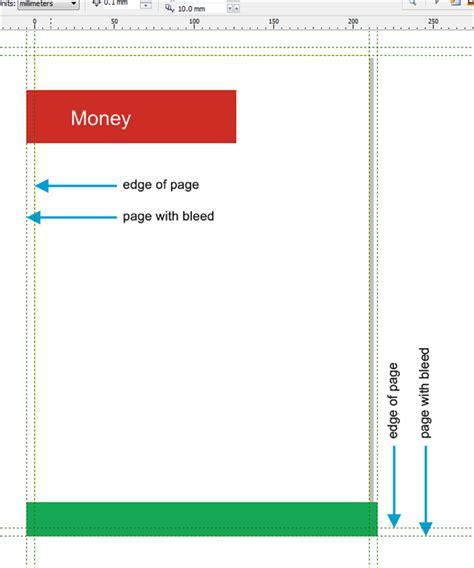 corel draw pdf forms bleed option not working for pdf coreldraw x5