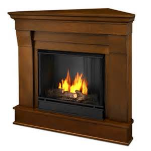 real chateau corner ventless gel fireplace at menards 174