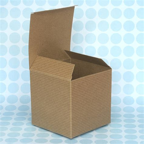 Paper Gift Box - kraft brown paper gift boxes by blossom