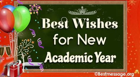 inspiring best wishes for new academic sessions to