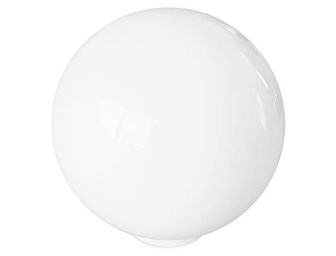 White Globe L by Glass Globe Light Shade