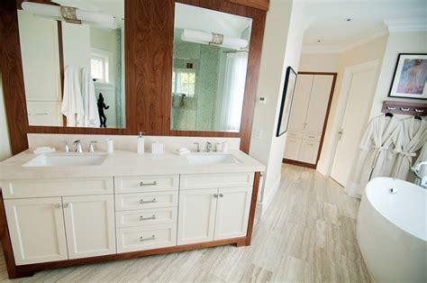 two tone bathroom cabinets two tone bathroom hi design