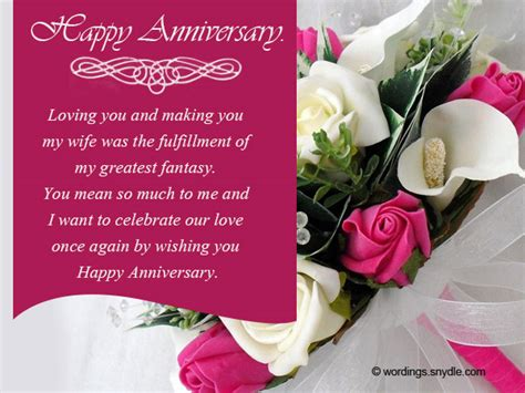 Wedding Anniversary Message by Wedding Anniversary Messages Wishes And Wordings