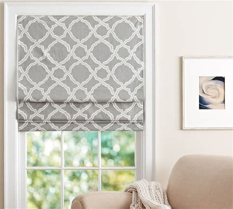 blinds pottery barn kendra trellis cordless shade pottery barn
