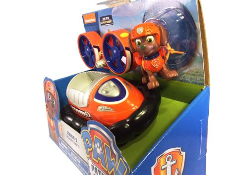 paw patrol orange boat paw patrol zuma s hovercraft 6 quot orange boat floats dog