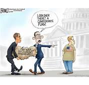 Distractions  AF Branco Political Cartoon