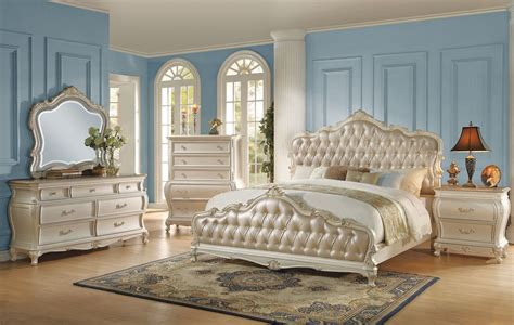 classic bedroom sets bencivenni pearl white classic bedroom furniture