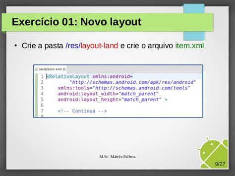 layout land hdpi cap 237 tulo 11 melhorando a usabilidade com qualifiers