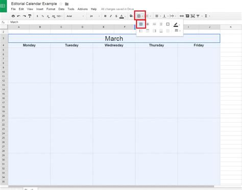 Editorial Calendar Docs How To Create A Free Editorial Calendar Using Docs