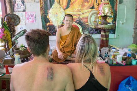 tattoo cost chiang mai getting a sak yant tattoo in chiang mai thailand getting