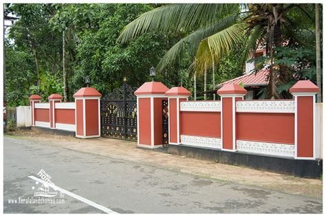 kerala house compound wall designs photos compound wall designs for house in india 28 images modern compound wall design