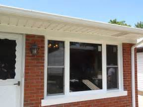 cost of bow window bow window replacement with 3 lite double hungs amp picture