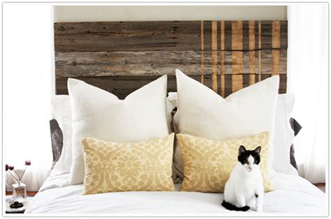 Wood Fence Headboard by Transformed Fence Turned Headboard Camille Styles