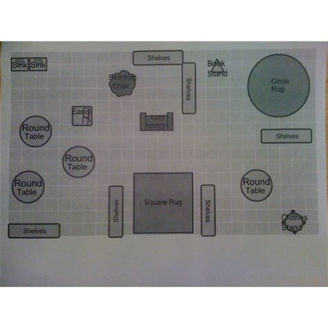floor plan of a preschool classroom free room planning tools online sites for creating a
