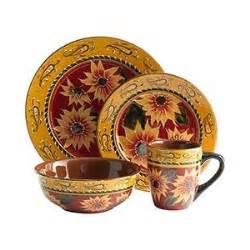 product details sunflower dinnerware polyvore