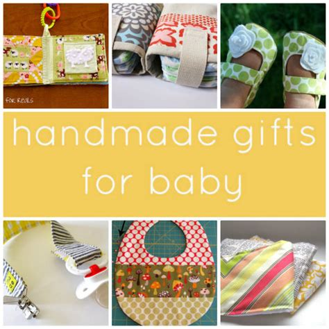 Baby Handmade Gifts - gifts to make for baby skip to my lou