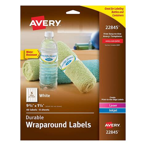 water bottle labels template avery avery water bottle label template avery water bottle label