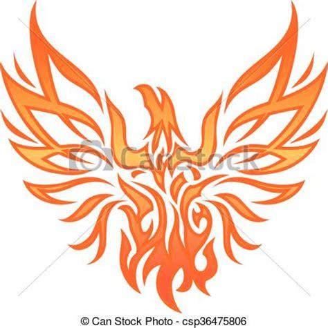 clipart vecteur de br 251 ler aigle tatouage flamme