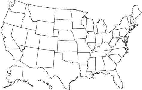 us map outline with alaska and hawaii blank us map including alaska and hawaii new