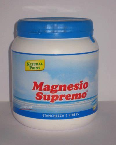 magnesio supremo diarrea integratori alimentari l unguento dei nonni