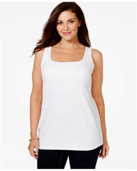 Shelf Bras For Sale by Style Co Plus Size Shelf Tank Top Only At Macy S