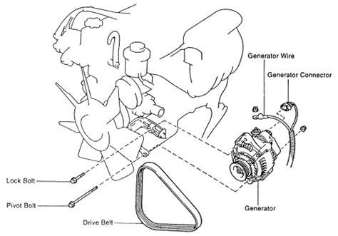 1997 Toyota 4runner Alternator Replacement 1999 Oldsmobile Alero 2 4l Fi Dohc 4cyl Repair Guides