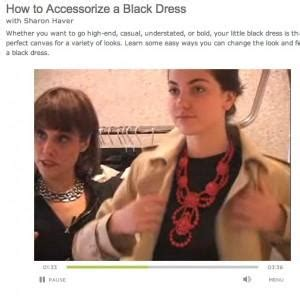 Unique Ways To Accessorize Your Lbd by How To Accessorize A Black Dress Style Your Lbd