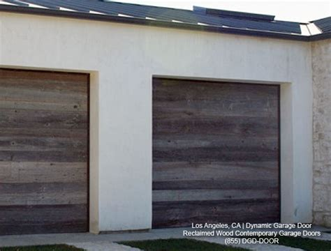 Garage Doors Contemporary Contemporary Garage Doors Crafted In Rustic Reclaimed Wood Salvaged From A Barn Modern Shed