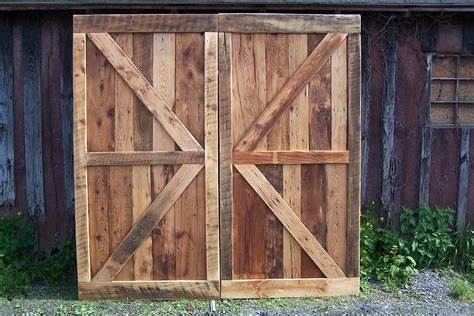 antique barn doors buy a crafted vintage barn doors made from reclaimed
