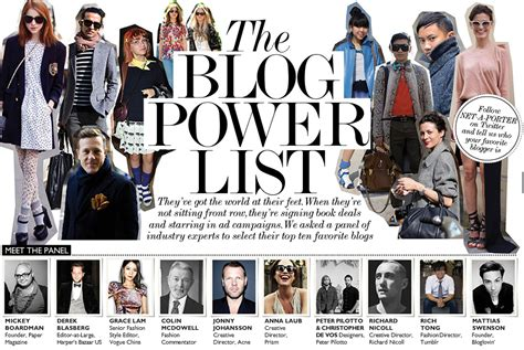 blogger famous you should be reading fashion blogging and vlogging