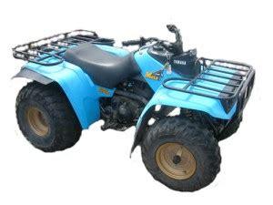 yamaha yfm250 yfm 250 moto 4 manual