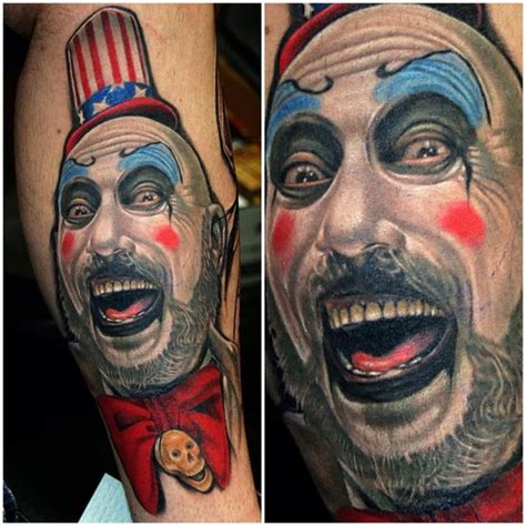 captain spaulding tattoo the world s catalog of ideas
