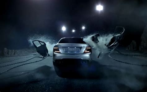 mercedes commercial video find how the 2012 mercedes c class coupe lost its doors