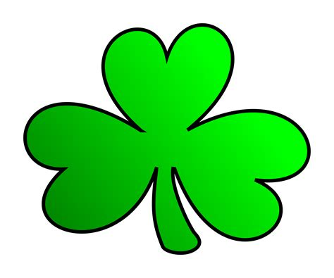 shamrock green clipart green shamrock