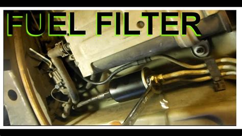 Fuel Filter Replacement Chevrolet Buick Lesabre Youtube