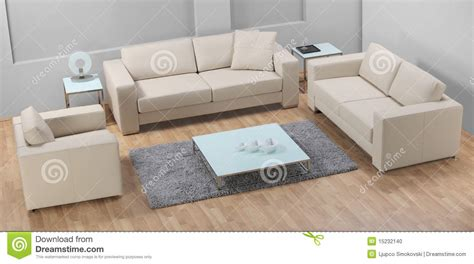 sofa para sala a modern minimalist living room with leather sofa stock