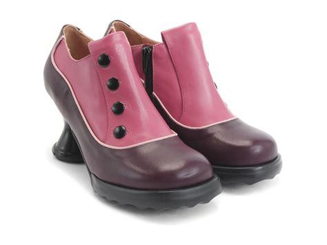 fluevog shoes fluevog shoes shop bunny pink purple leather