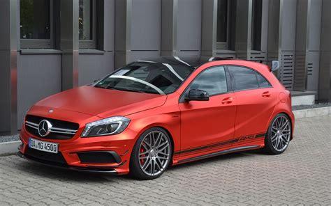 Autofolie Rot Metallic Glänzend by 2015 Folien Experte Mercedes Benz A45 Amg Static 3