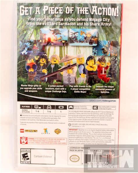 Lego Ninjago The Nintendo Swicht the lego ninjago for nintendo switch mureview