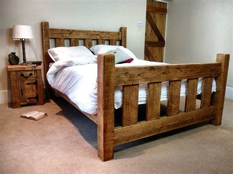 Ideas For Bed Frames Ideas For Make Rustic Bed Frame Plans Editeestrela Design