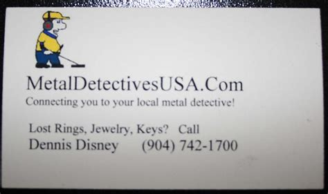 metal detecting business cards template business cards friendly metal detecting forums