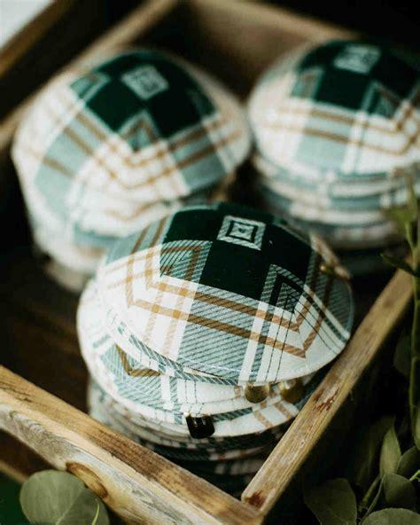 Wedding Yarmulkes by A C Themed Wedding In Montauk New York Martha