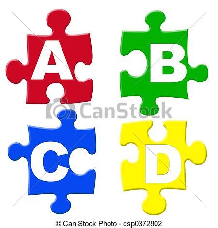 Drawing B C by Abcd Jigsaws Abcd Jigsaw Puzzle Pieces