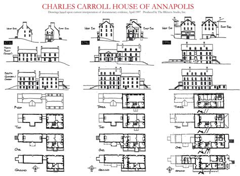 charles carroll house charles carroll house plans charles carroll house