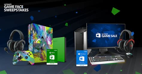 Game Face Sweepstakes - the ultimate game sale kicks off today windows experience blogwindows experience blog